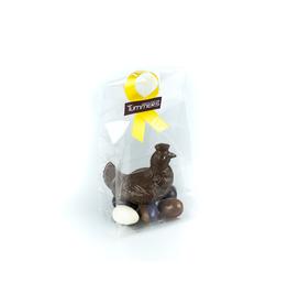 Chocoladekip met eitjes