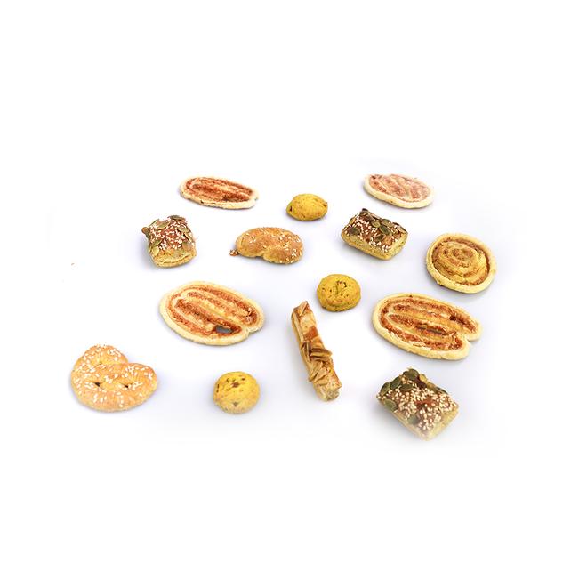 Allerhande zoute koekjes