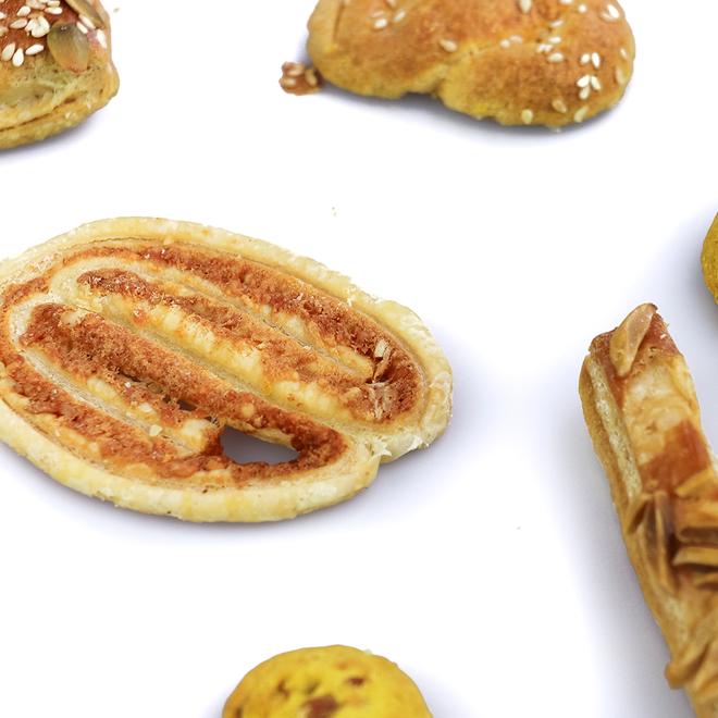 Pakje zoute koekjes
