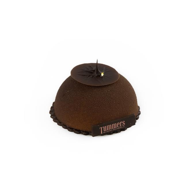Sphère cherise chocolat