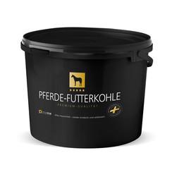 feeding coal horse pellet