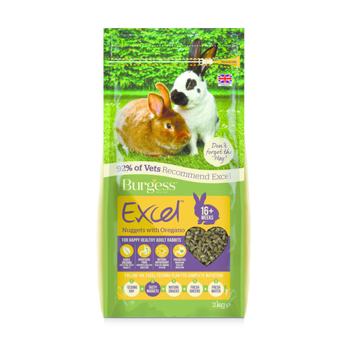 Burgess Excel Rabbit Adult Oregano 2kg