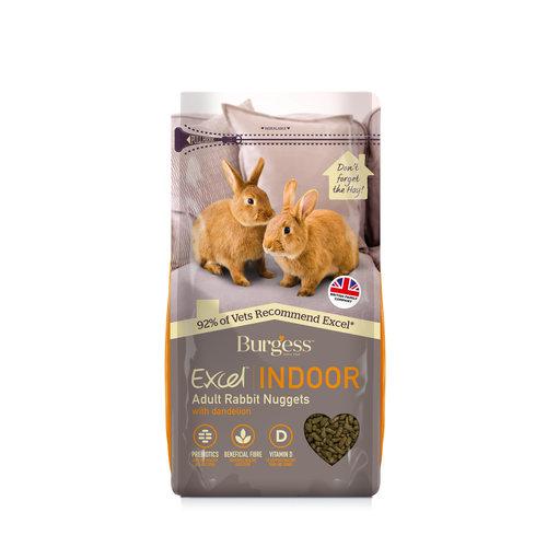 Burgess Excel Indoor Rabbit - New 1.5kg