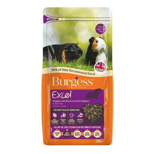 Burgess Excel Guinea Pig Blackcurrant & Oregano 2kg