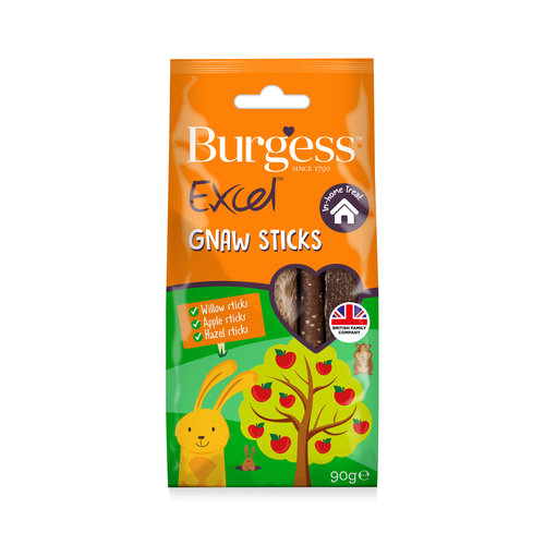 Burgess Excel Gnaw Sticks 80g