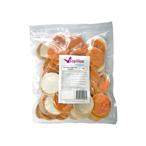 Papillon Chew chips with chicken 1kg
