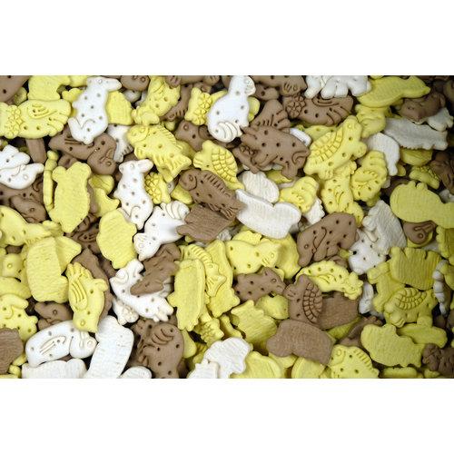Papillon Hondenkoekjes animal mix 10kg