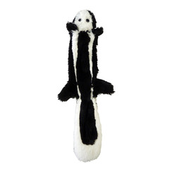 Plush skunk without filling
