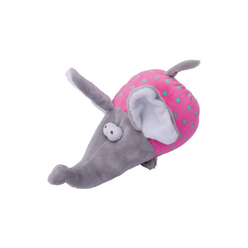 Papillon Plush Elephant with squeaker 17cm