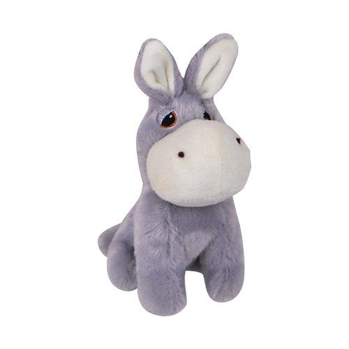 Papillon Plush donkey with squeaker 14cm