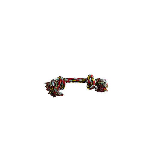 Papillon Katoen flossy speelgoed 2 knopen 90gr 25cm