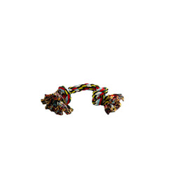 Cotton flossy toy 2 knots 180gr 38cm