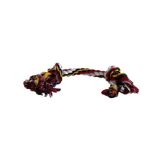 Papillon Katoen flossy speelgoed 2 knopen 390gr 50cm