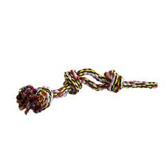 Cotton flossy toy double 3 knots 600gr 60cm