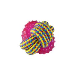 Geweven touw met rubberen ringen 8cm 140-150gr