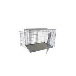 Wire cage L 2 doors