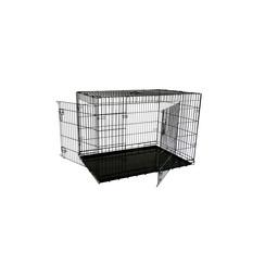 Economic wire cage black XL, 2 doors