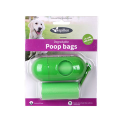 Poep bags dispenser (pill-form)