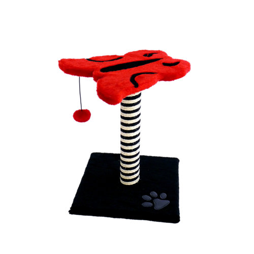 Papillon Cat Tree with butterfly plate