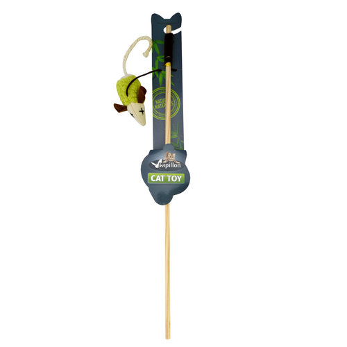 Papillon Fishing rod with mouse