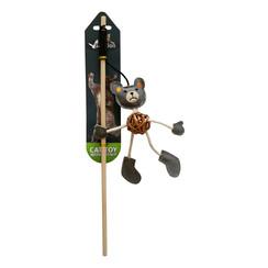 Fishing rod with bear