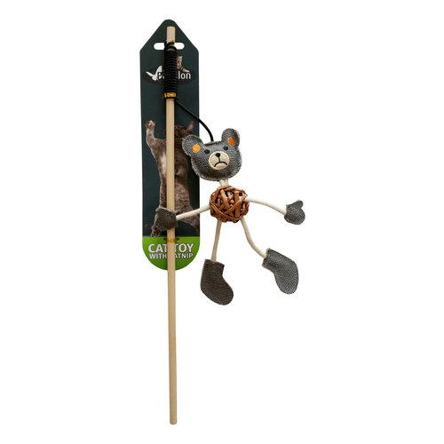 Papillon Fishing rod with bear