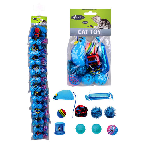 Papillon Clip cat toy set