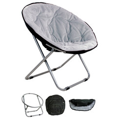 Relaxation chair 50 * 50 * 40 light-gray
