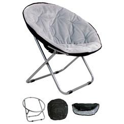 Relaxstoel 50*50*40 licht grijs