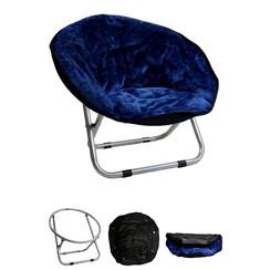 Relaxstoel 50*50*40 do.blauw