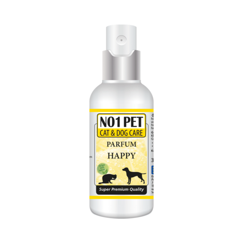 No1-pet Happy Parfum, alcohol-free