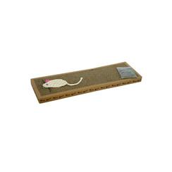 Krabplank van karton met kattensnip
