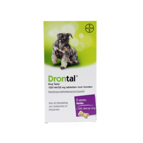 Bayer Drontal Dog Flavour