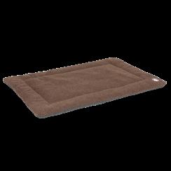 Doggy Wool Blanket Brown