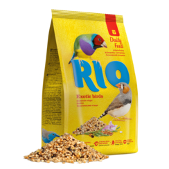 RIO Feed for exotic birds. Daily feed