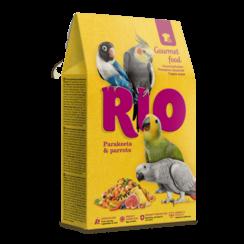 RIO Gourmet voer voor parkieten en papegaaien, 250 g