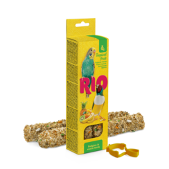 RIO Sticks for budgies and exotic birds with tropical fruit, 2x40 g