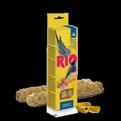 RIO Sticks voor parkieten en exotische vogels met honing, 2x40 g