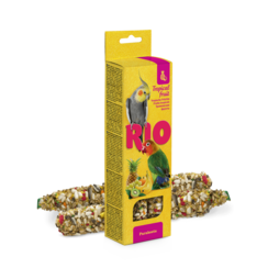 RIO Sticks for parakeets with tropical fruit, 2x75 g