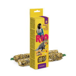 RIO Sticks for parakeets with honey and nuts, 2x75 g
