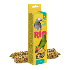 RIO Sticks for parrots with fruit and berries, 2x90 g