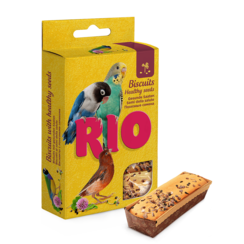 RIO Biscuits for all birds with healthy seeds, 5x7 g