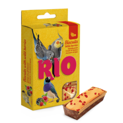 RIO Biscuits for all birds with wild berries, 5x7 g