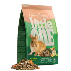 "Little One ""Green valley"". Fibrefood for rabbits, 750 g"