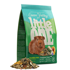 "Little One ""Green valley"". Fibrefood for guinea pigs, 750 g"