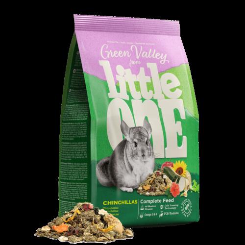 """Little One Little One """"Groene Vallei"""" voer voor chinchilla's, 750 g"""