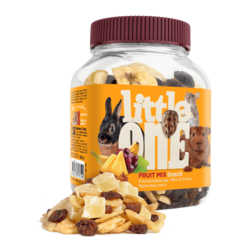Little One Fruit mix. Snack for all small mammals, 200 g