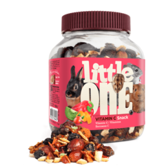Little One Vitamin C. Snack for all small mammals, 180 g
