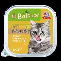 Aluminium cup cat - poultry 16x 100 gr