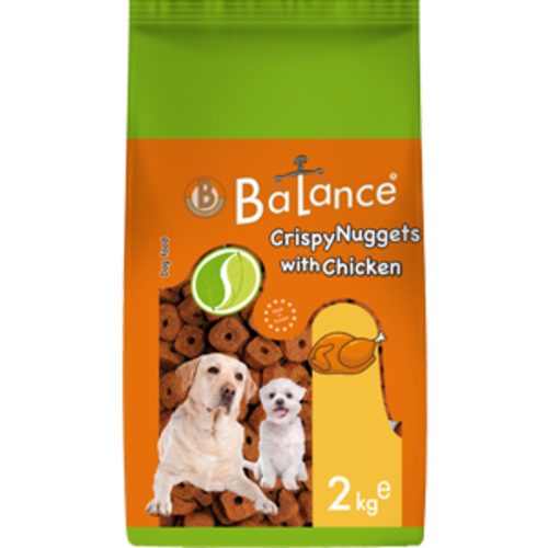 Balance Crispy Nuggets with Chicken